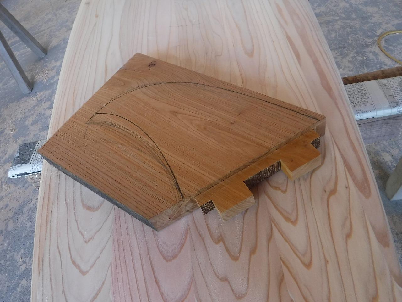 杉ウッドボード(SUP)製作風景②