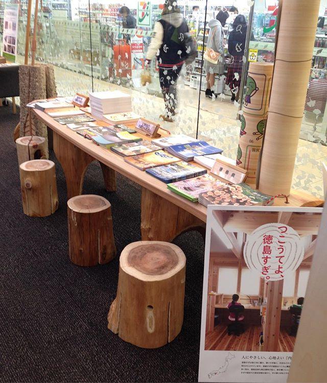 徳島の杉をPR!