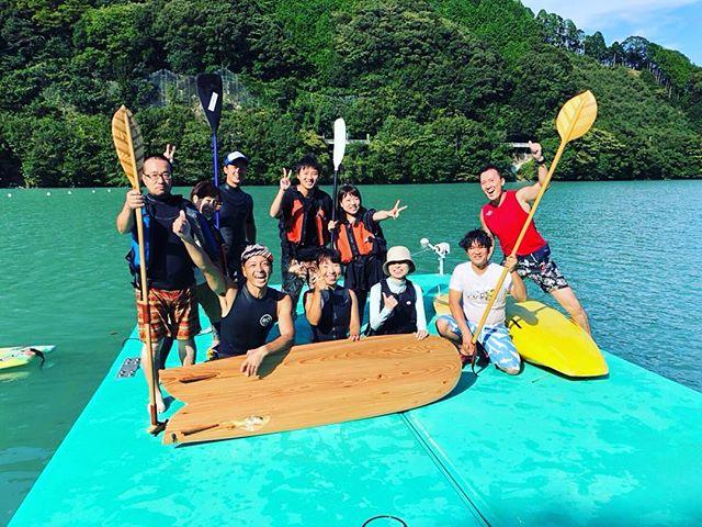 KUKUサップ体験会@那賀町川口ダム湖