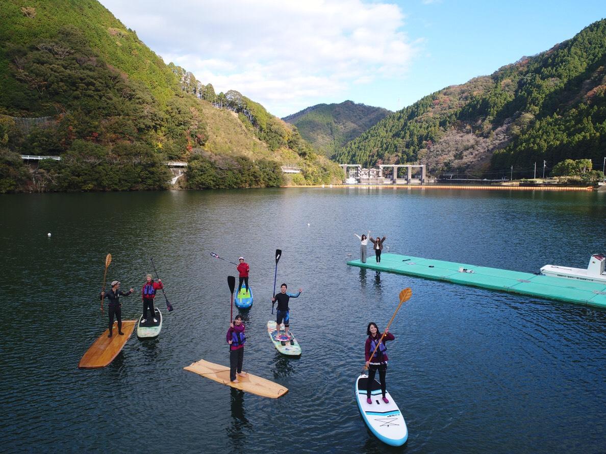 木頭杉SUP体験 in 徳島県那賀町  ムービー