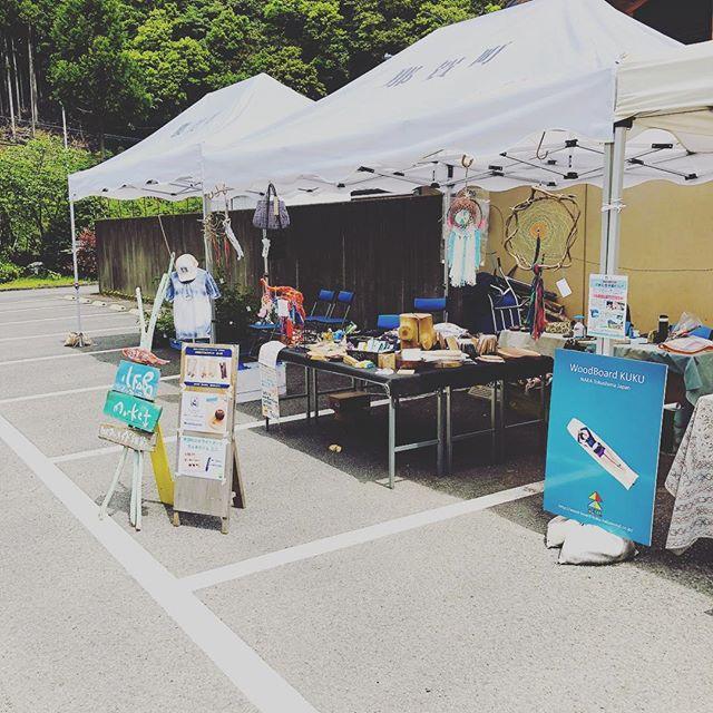 四季美谷温泉 新緑祭で出店してます!アワシャンティーさん、ヨンロッパさんとご一緒に楽しく販売してます!#ウッドボードkuku #四季美谷温泉#新緑祭#ヨンロッパ#アワシャンティー