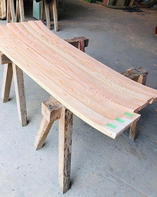 木頭杉の雪板ブランクス北海道@naturaldrift_akio 彼のシェイプで最高のライドを!#ウッドボードkuku #木頭杉#雪板#北海道#snow@nakawood