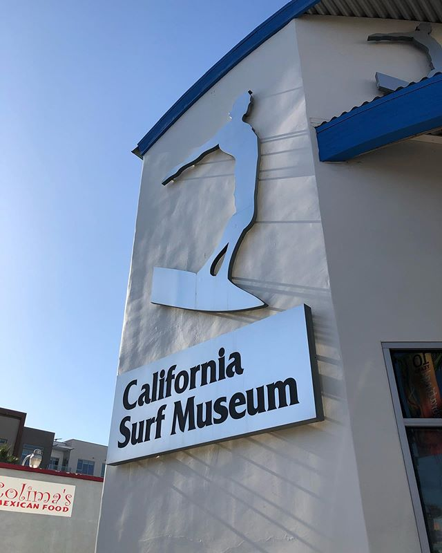 Oceansideのカリフォルニアサーフミュージアムにて