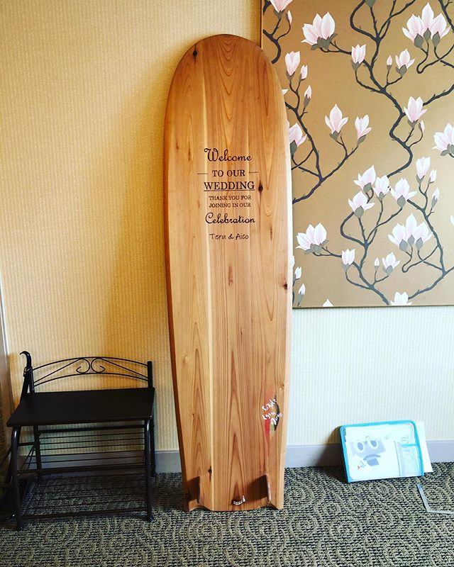 KUKU alaiawelcome board#woodboardkuku#alaiasurfboards #木頭杉#woodburning #welcomeboard #surfstyle#interior @nakawood