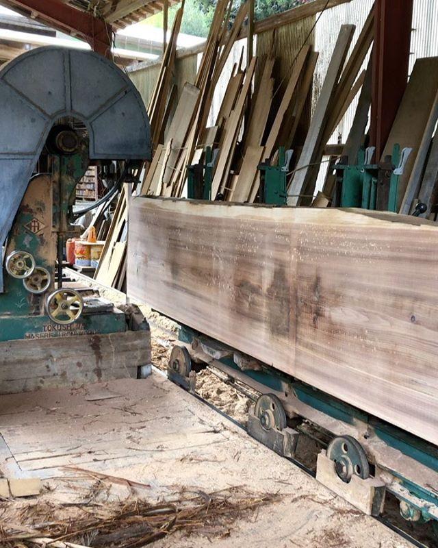 KUKU製材 2年天然乾燥した那賀町産杉材を