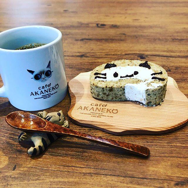 KUKUコースター徳島cafeAKANEKOさんに使って頂いてます!ヘアサロンとの併設のカフェです。お近くにお越しの際は美味しいお料理を是非〜^_^#woodboardkuku#木頭杉#ウッドコースター#woodcoasters #woodtray #woodart #cafe#cat#cafeakaneko @cafeakaneko @nakawood