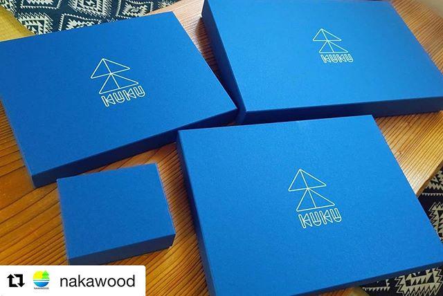 #Repost @nakawood with @get_repost・・・WoodBoard KUKUの箱 到着!! ギフトセットこさえます️ #woodboardkuku #nakawood