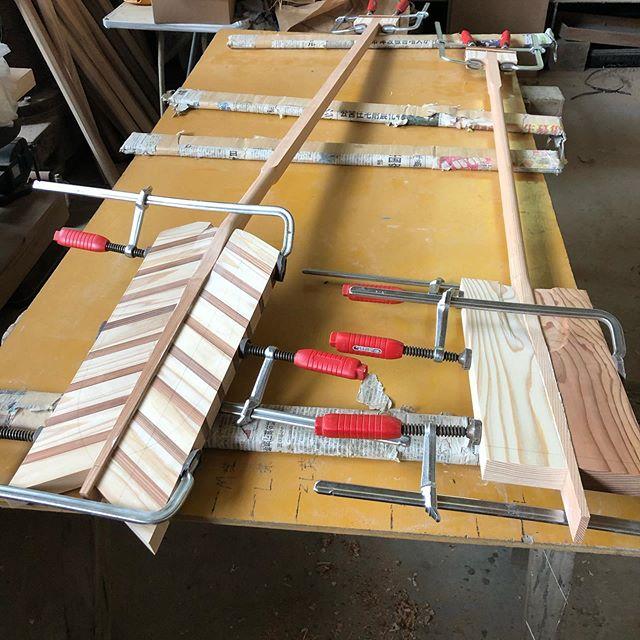 KUKU paddle ブレード製作