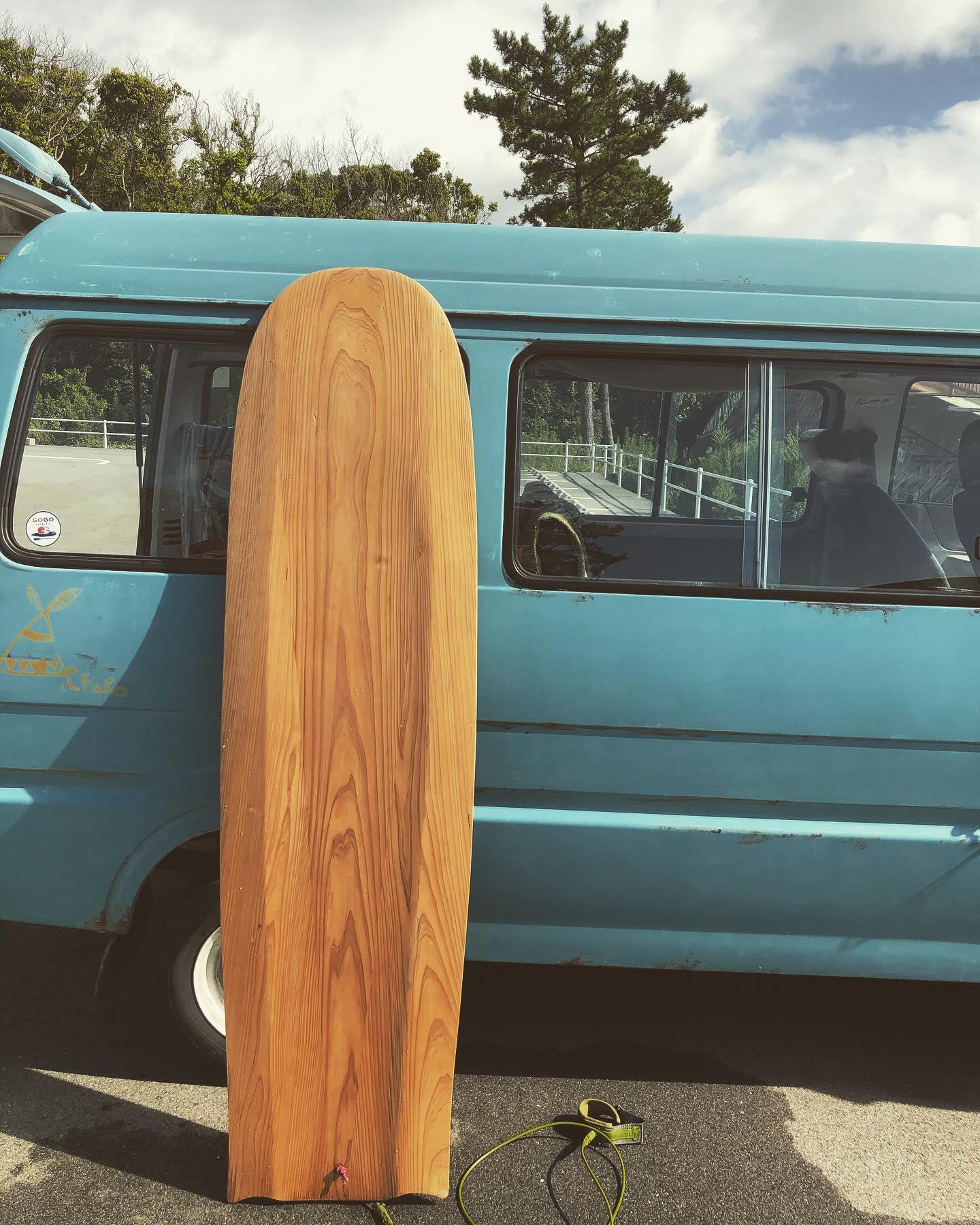 woodboardkukualaia #woodboardkuku#wooddensurfboard #alaiasurfboards #木頭杉#徳島県産材#波乗り#原点回帰@woodboardkuku @nakawood