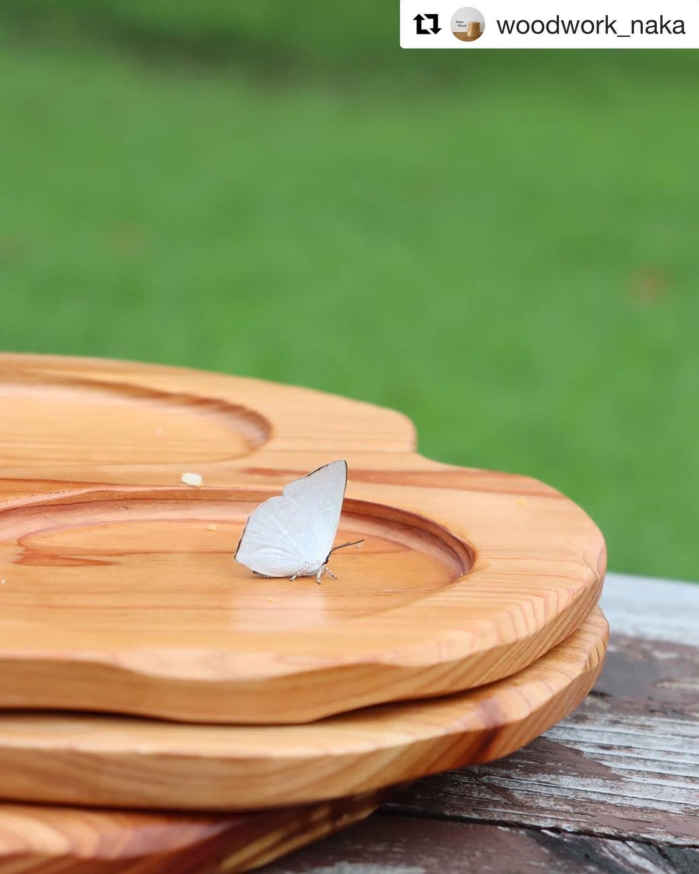 #Repost @woodwork_naka with @get_repost・・・木頭杉のプレート🦋#wood #woodplate #kukuplate #woodwork #nakawood #woodboardkuku #cooljapan